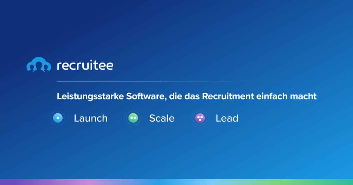 recruiting software von recruitee